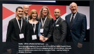 Kubify Team receiving the Award