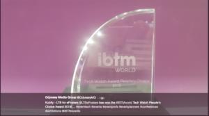 The IBTMworld Award